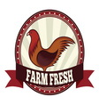 Farm fresh chicken resize vector image vector image