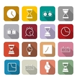 Icons clock vector image