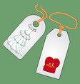 label badge price tag with the image of vector image vector image