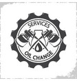 oil change services logo