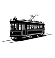 tramway vector image vector image
