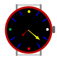 clock colors vector image vector image
