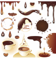 Coffee and chocolate vector image