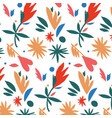 mexican style paper cut colorful pattern vector image vector image