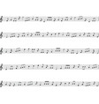 musical notes on white background vector image