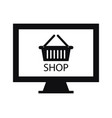 online shop vector image vector image