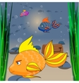the underwater world vector image vector image