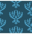 Decorative Seamless Wallpaper Pattern vector image