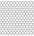 hexagon grid cells seamless pattern vector image
