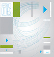 abstract lines clear eps 8 vector image vector image