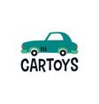 car toys logo icon vector image vector image