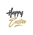 Easter sign - Happy Easter Easter wishe overlay vector image vector image