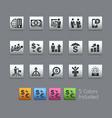 financial business - satinbox series vector image vector image