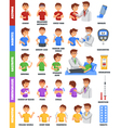 Illnesses And Medication Poster vector image
