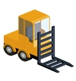 machinery construction isometric isolated icon vector image