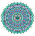 mandala on a white background vector image vector image