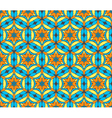 Oriental seamless symmetrical pattern vector image