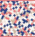 random colored abstract geometric mosaic pattern