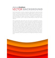 red background for design vector image vector image