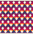 red zigzag seamless pattern vector image vector image