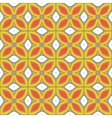 Seamless pattern with bold geometric shapes vector image vector image