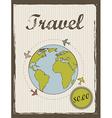 travel annoucement annoucement vintage style
