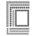 al 0513 ornaments vector image vector image