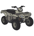 All-terrain buggy vector image vector image