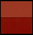 brick wall textures design element vector image
