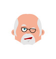 doctor winks emotion avatar physician happy emoji vector image