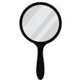 Hand mirror vector image vector image