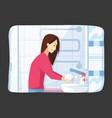 hygiene disinfection coronavirus protection vector image