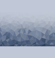multicolor grey low poly background abstract vector image vector image