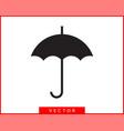 umbrella icon rain protection concept vector image vector image