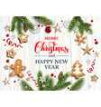 white wood card vector image