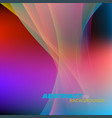 abstract shiny colors motion scene vector image vector image