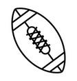 american football balloon emblem vector image