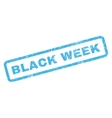 Black Week Rubber Stamp vector image vector image