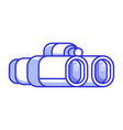 classic binocular line icon vector image