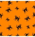 Halloween icons seamless of cat vector image vector image