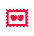 love icon or valentines day sign designed vector image vector image