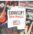 Music Concert Poster vector image