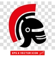 Rome Helmet Eps Icon vector image vector image