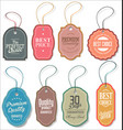 sale tag collection 2 vector image vector image