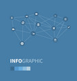 set of simple distribution vector image vector image