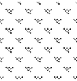 Molecule pattern simple style vector image