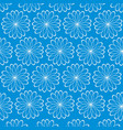 abstract pattern on turn blue background vector image vector image