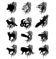 animals tattoo vector image