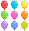 Balloons Singles vector image vector image