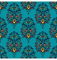 Damask festive seamless pattern vector image vector image